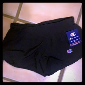 Champion black sport shorts - size XS - NEW!!